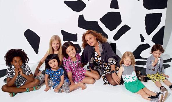 Diane Von Furstenberg and the Gap