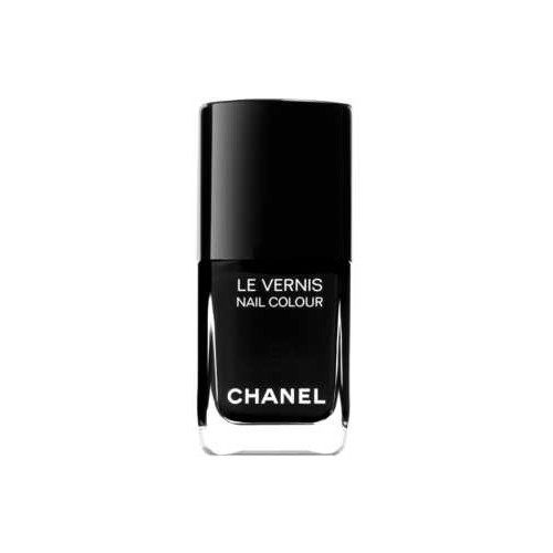 Chanel Black Nail Polish