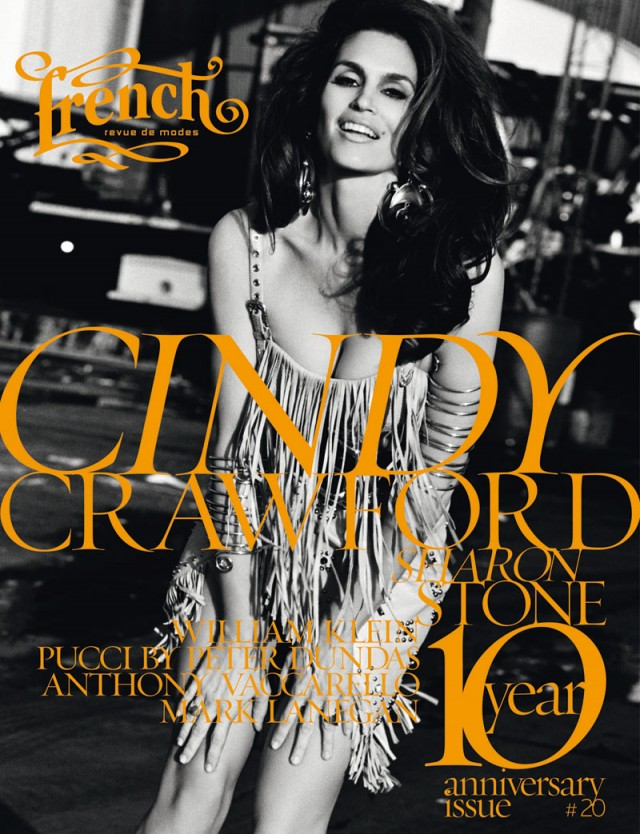 cindy crawford magazine cover
