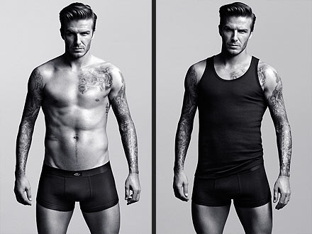 david beckham for h&m underwear collection