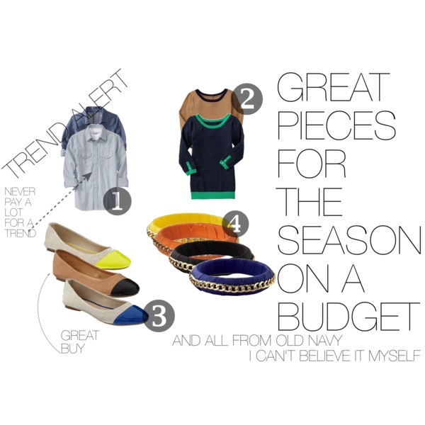 Great pieces on a budget