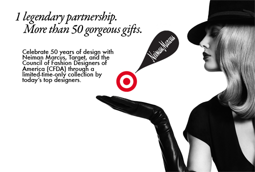 NEIMAN MARCUS TARGET HOLIDAY COLLABORATION