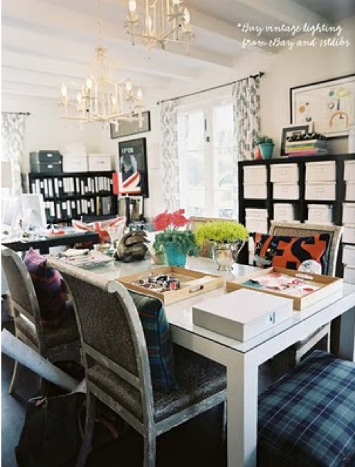 Office space inspiration the fashion hive for Office space inspiration