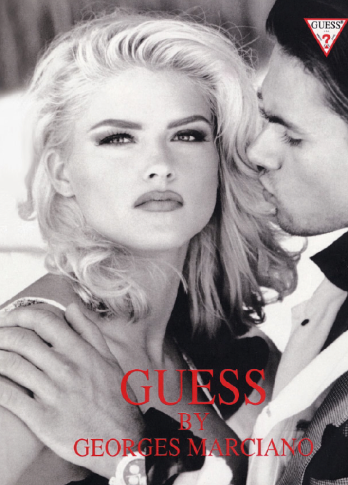 anna nicole smith daughter to model for guess