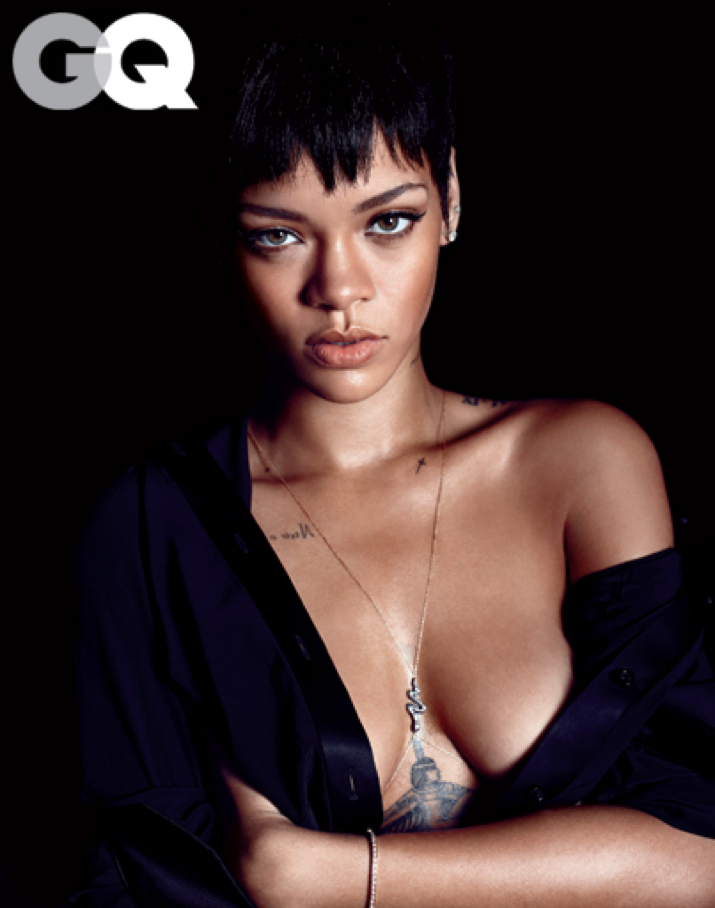 rihanna for gq magazine
