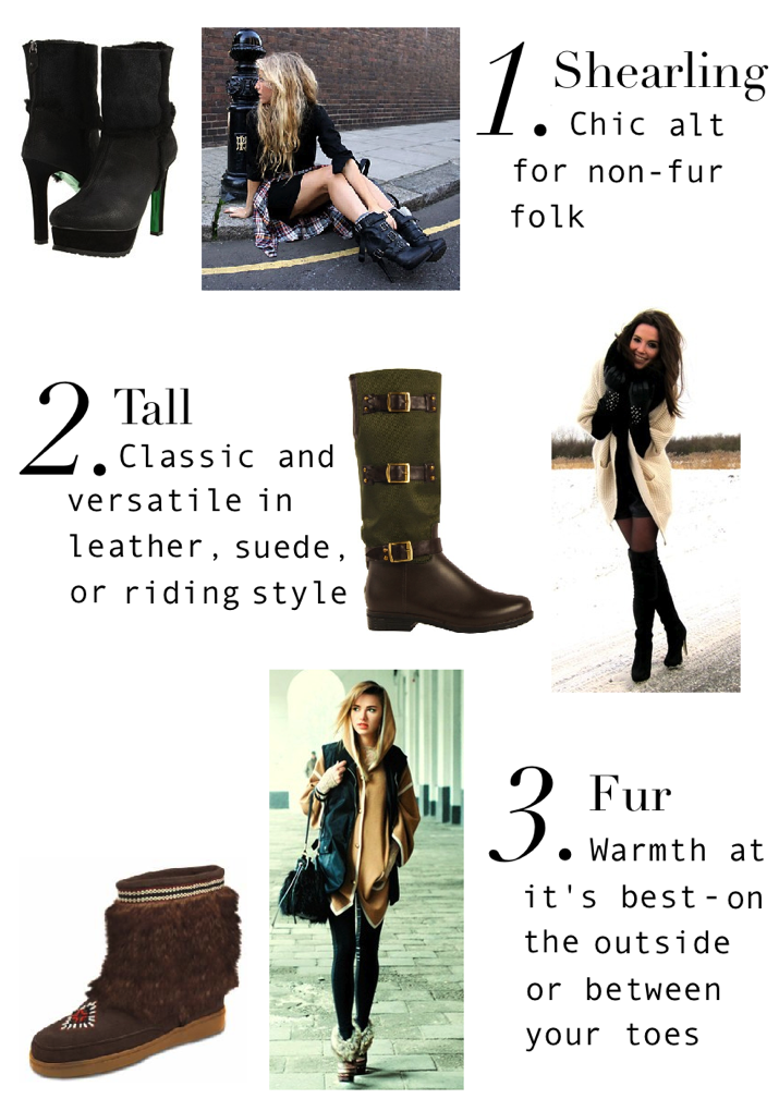 winter boots must haves