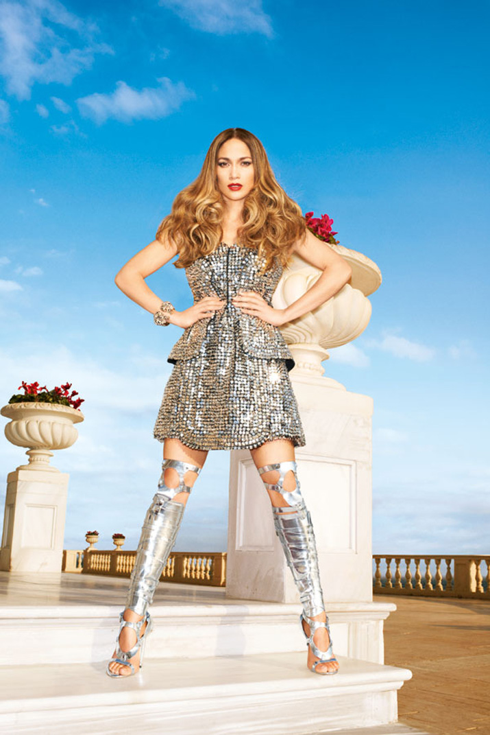 jennifer-lopez-silver-dress