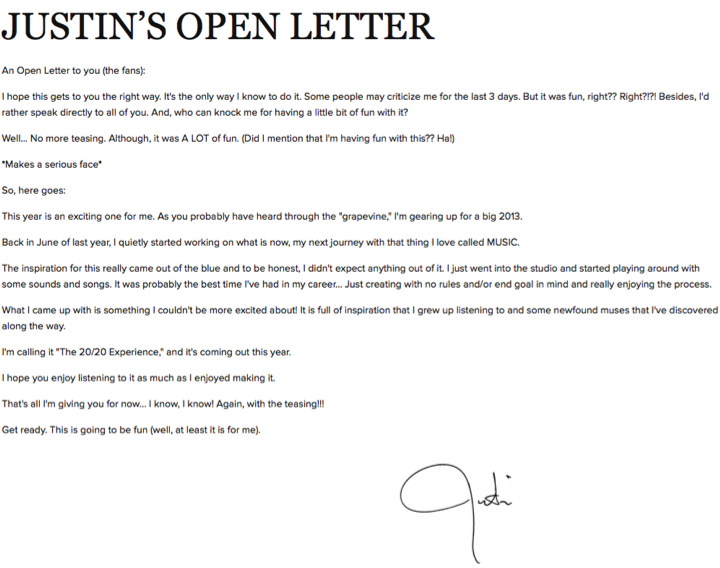 justin-timberlake-open-letter-to-fans