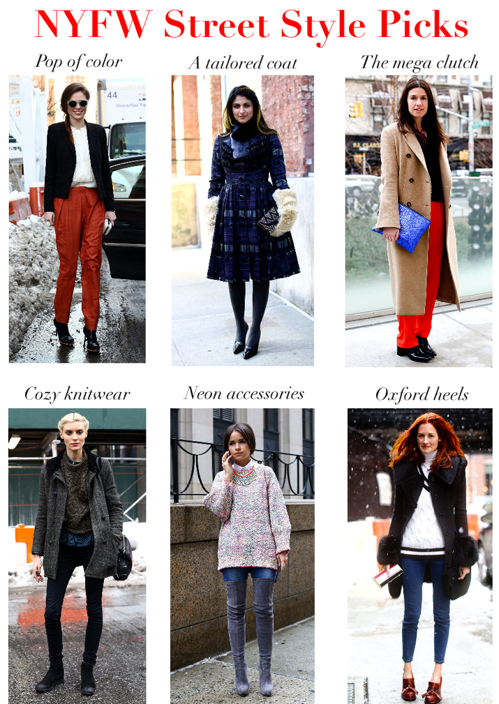 Chic Street Style Picks from NYFW 2013