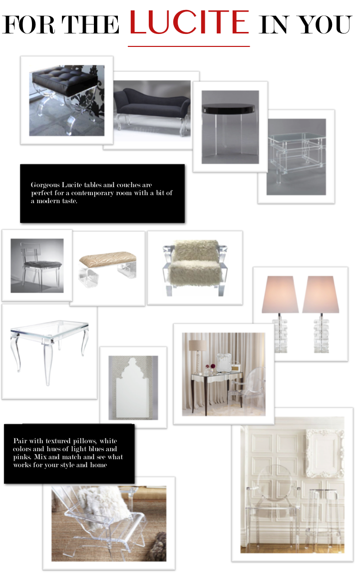 lucite-furniture