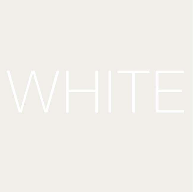 Inspiration: Seeing White