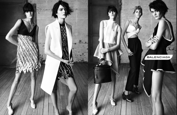 Balenciaga Cinametic Campaign and Inspiration
