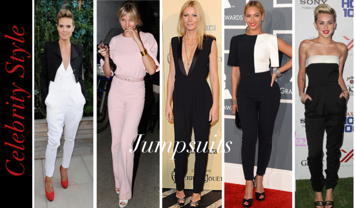 celebrity style jumpsuits � the fashion hive