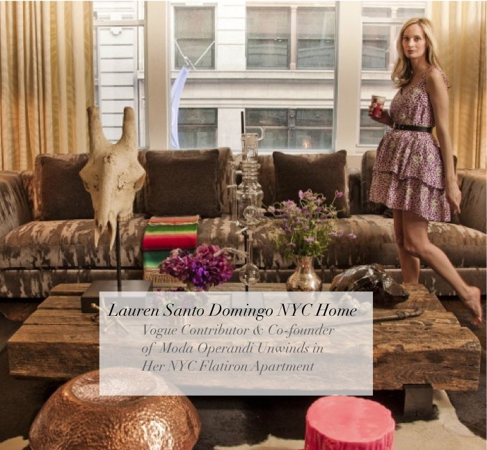Decor Lauren Santo Domingo Vogue Editor The Fashion Hive